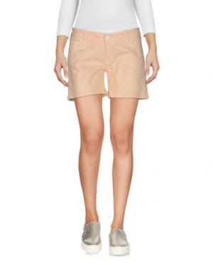 Джинсовые шорты VDP CLUB. Цвет: светло-розовый