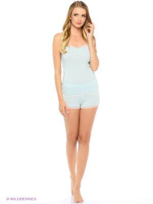 Комплект пижамный жен. Deseo. Цвет: светло-зеленый