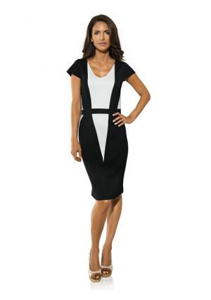 Платье PATRIZIA DINI. Цвет: черный/белый