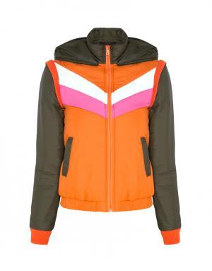 Куртка Misha American Retro. Цвет: оранжевый, коричневый