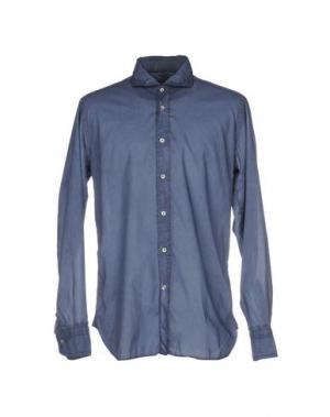 Pубашка GUGLIELMINOTTI. Цвет: грифельно-синий