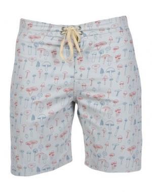 Пляжные брюки и шорты MOLLUSK. Цвет: светло-серый