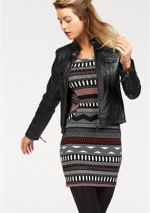 Кожаная куртка AJC. Цвет: серый/телесный потертый, сливовый/бордовый, черный