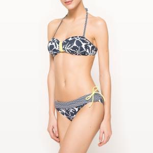 Эксклюзивный товар La Redoute - Раздельный купальник BANANA MOON. Цвет: темно-синий/белый