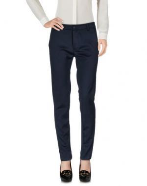 Повседневные брюки NÖE. Цвет: темно-синий