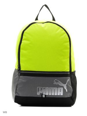Рюкзак PUMA Phase Backpack II. Цвет: желтый