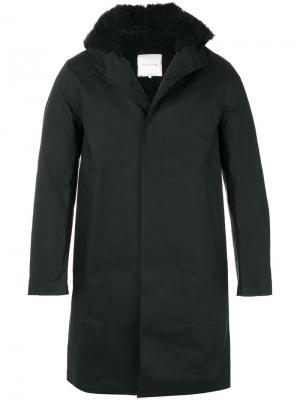 Водонепроницаемое пальто Mackintosh. Цвет: чёрный