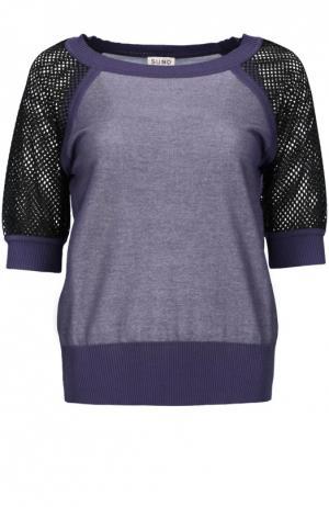 Пуловер джерси Suno. Цвет: серый
