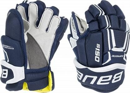 Перчатки хоккейные детские  S17 Supreme S150 Bauer