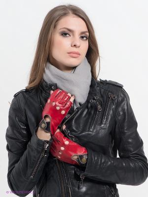 Перчатки Dali Exclusive. Цвет: красный, темно-коричневый