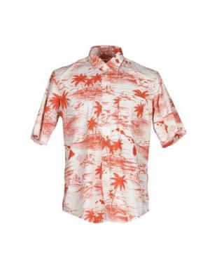 Pубашка ROŸ ROGER'S. Цвет: белый