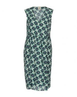 Платье до колена ATTIC AND BARN. Цвет: светло-зеленый