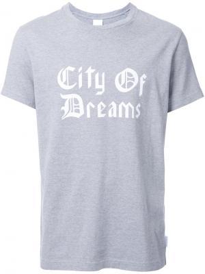 Футболка City of Dreams Cityshop. Цвет: серый