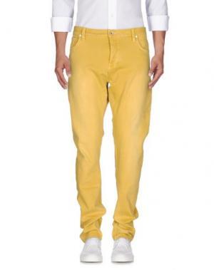 Джинсовые брюки SCOTCH & SODA. Цвет: желтый