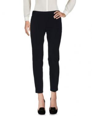 Повседневные брюки FABRIZIO LENZI. Цвет: темно-синий