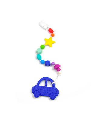 Игрушка-подвеска MamSi. Цвет: синий, голубой, красный