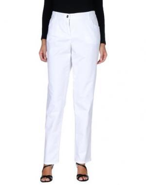 Повседневные брюки BASLER. Цвет: белый