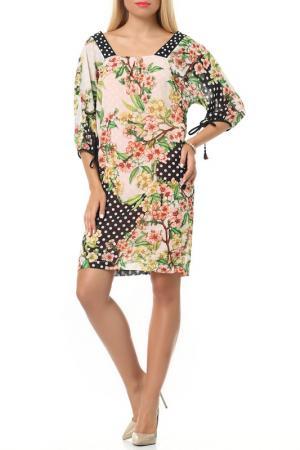 Платье Классо LESYA. Цвет: мультицвет