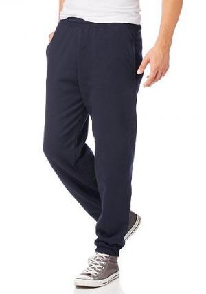 Тренировочные брюки, Fruit Of  Loom THE. Цвет: синий морской