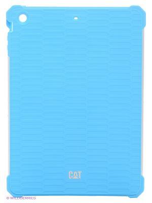 Противоударная защита для iPad Air Caterpillar. Цвет: голубой