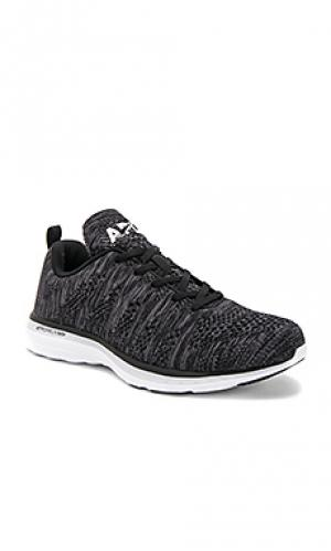 Кроссовки techloom pro Athletic Propulsion Labs: APL. Цвет: black & white
