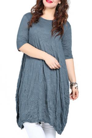 Платье-туника VALERIA FRATTA. Цвет: khaki