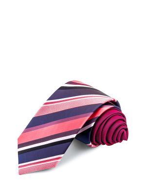 Галстуки CASINO. Цвет: синий, белый, розовый