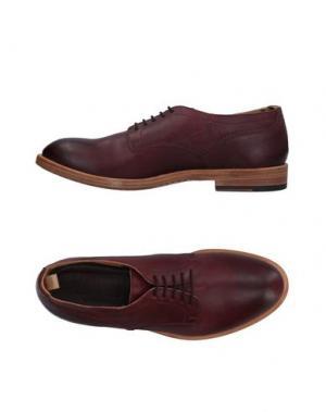 Обувь на шнурках MAURON. Цвет: красно-коричневый