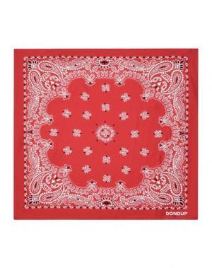 Платок DONDUP. Цвет: красный