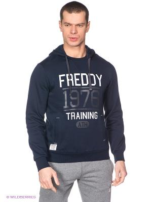 Худи Freddy. Цвет: темно-синий
