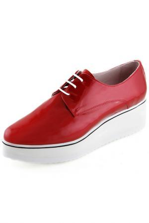 Туфли Sessa. Цвет: красный