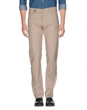 Повседневные брюки NICWAVE. Цвет: голубиный серый