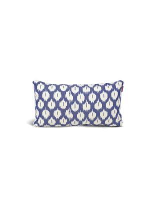 Чехол на подушку декоративный Ikat Long 35*60см RAWEDGE. Цвет: синий