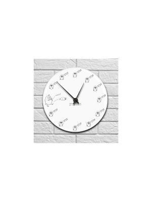 Часы настенные Всё возможно Kawaii Factory. Цвет: белый