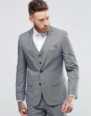 Harry Brown Приталенный пиджак. Цвет: серый