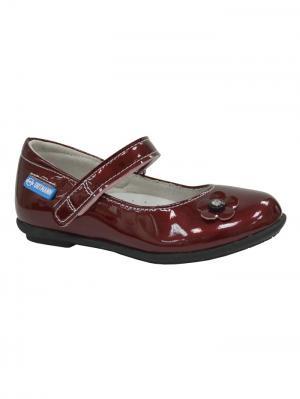 Обувь ортопедическая малосложная JENA, арт. 7.62.2 ORTMANN. Цвет: красный
