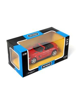 Машина металлическая  Mercedes-Benz SLS AMG 1:24. HOFFMANN. Цвет: красный
