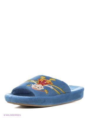 Тапочки детские Dream Feet. Цвет: голубой