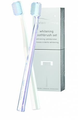 Набор отбеливающих зубных щёток St.Moritz Swiss Smile. Цвет: бесцветный