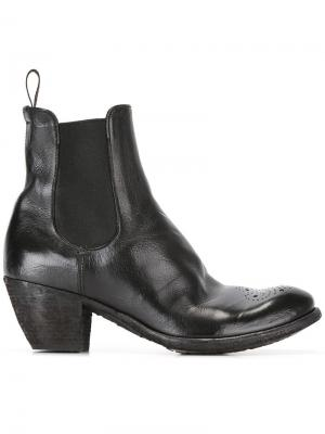 Ботинки в стиле вестерн Officine Creative. Цвет: чёрный