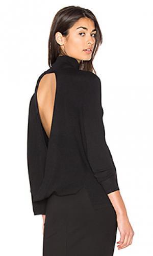 Свитер с открытой спиной milana 360 Sweater. Цвет: черный