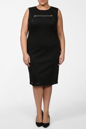 Платье Lucky. Цвет: черный