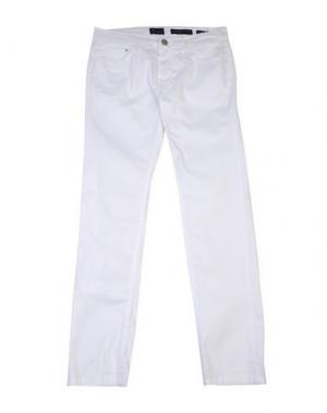 Повседневные брюки BARNUM. Цвет: белый