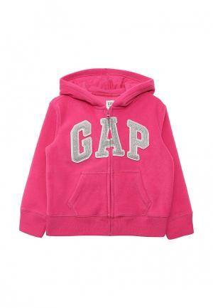 Толстовка Gap. Цвет: розовый
