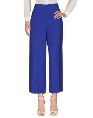 Повседневные брюки QL2 QUELLEDUE. Цвет: ярко-синий