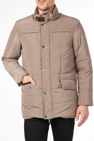 Куртка BCM. Цвет: бежевый