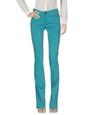 Повседневные брюки M!A F. Цвет: бирюзовый