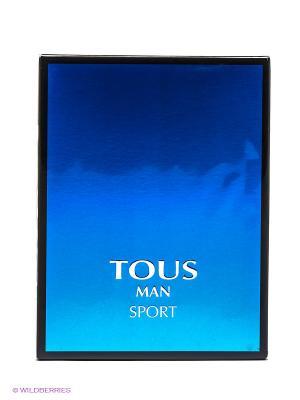 Туалетная вода Man Sport, 100мл. TOUS. Цвет: прозрачный