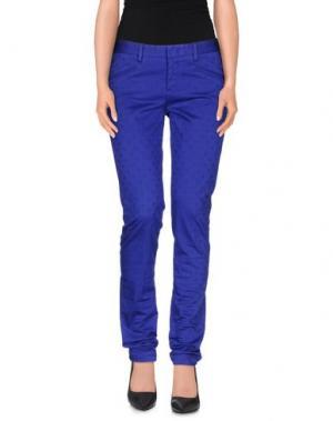 Повседневные брюки PT0W. Цвет: фиолетовый