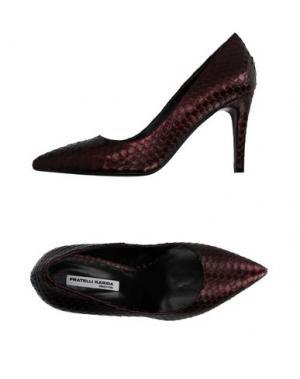 Туфли FRATELLI KARIDA. Цвет: баклажанный